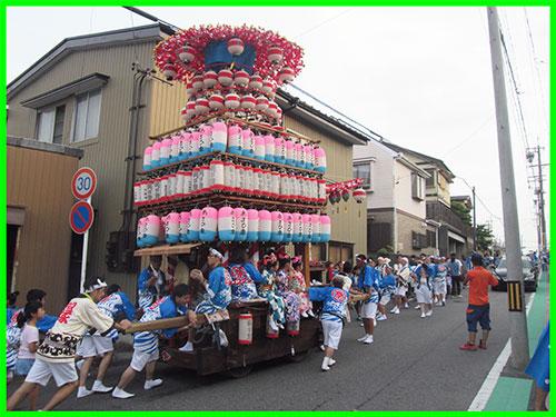 『夏祭り・あさひ車』