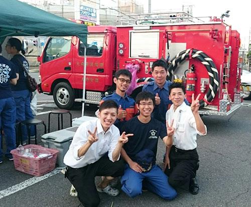 消防団の人達