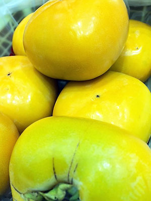 柿の中でも「刀根柿」です!