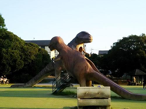 「恐竜!?」