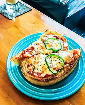 ピザトーストめっちゃ美味しそう!