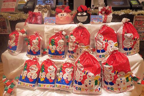 クリスマスお菓子袋