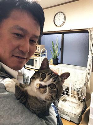 樋口さんと猫