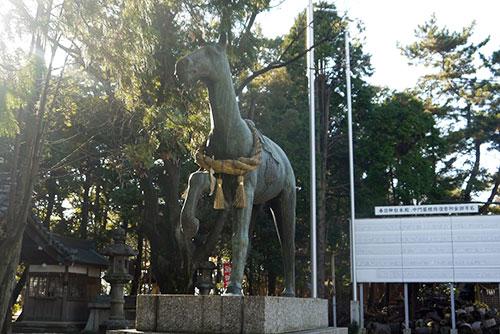 馬の像その2