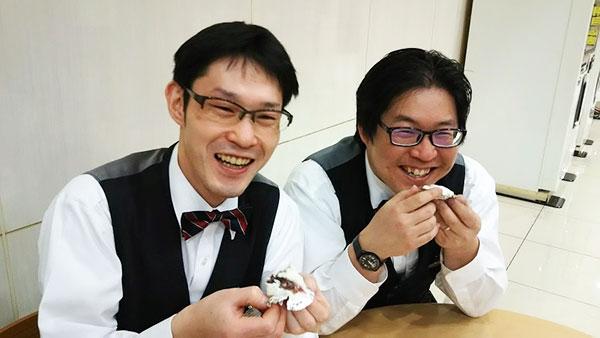 手島エンジニア&小谷エンジニア