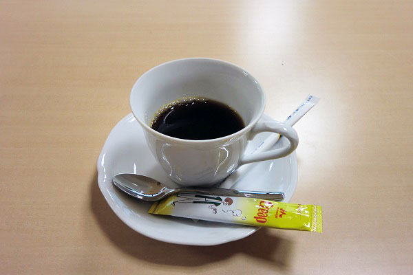 ご馳走になったコーヒー