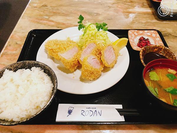 ヒレカツ定食☆