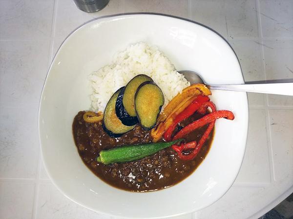 飛騨牛ミンチ入り夏野菜カレー