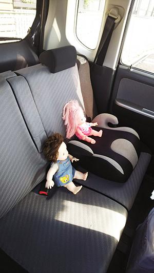 車内放置のポポちゃん