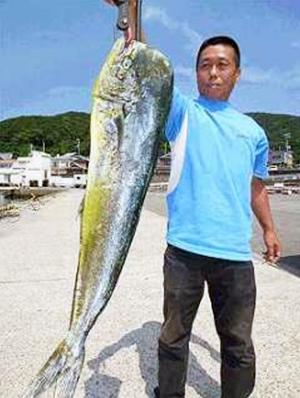 巨大魚シイラ!!