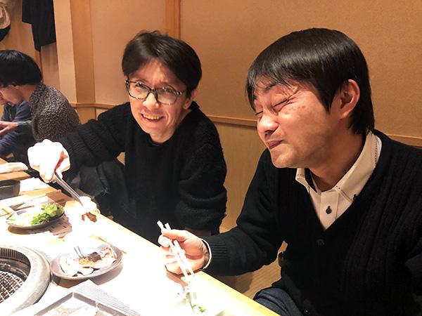 林次長と小澤さん
