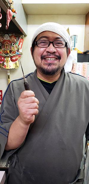 濱蛸店主さん
