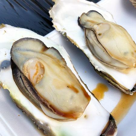 ぷりっぷりの牡蠣