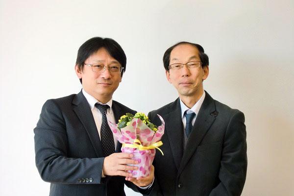 教頭先生とお花と私