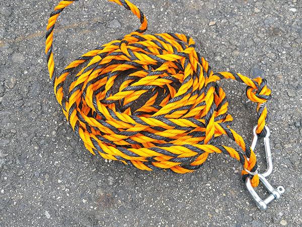 ロープ完成