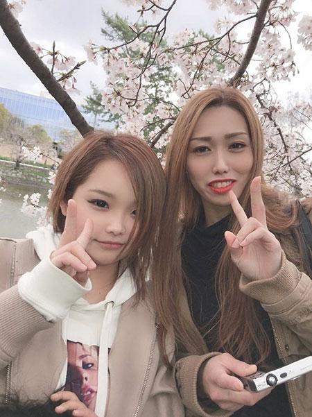桜とどっちが綺麗?