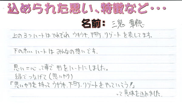 共和店の『シンボルマーク』を考えよう! ~途中経過大公開!!~