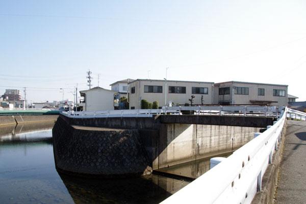 中島砦跡付近