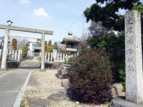 鳴海城石碑