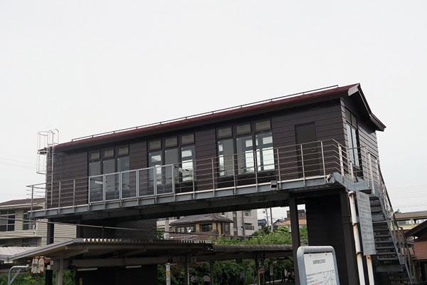 亀崎駅 跨線橋