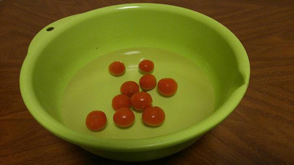 トマト解凍