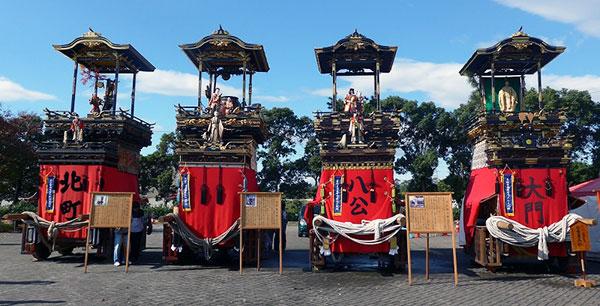 東海秋祭りで曳き出された時の画像