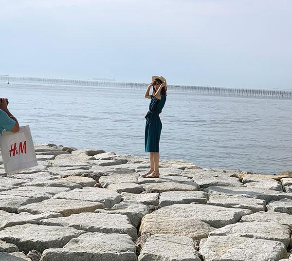 ボンバーガール撮影会【Shooting Session In Summer】~りんくうビーチ編