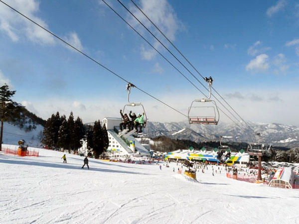 鷲ヶ岳スキー場☆