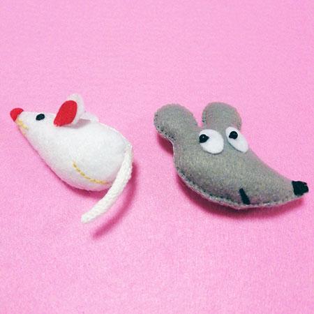 干支のネズミ♪