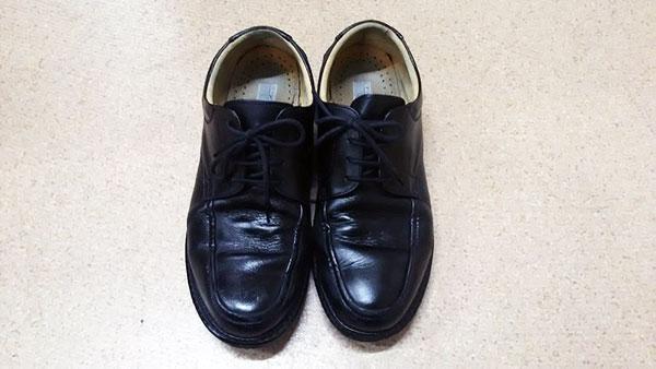 ワイルドな靴…。