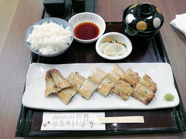 白焼き定食