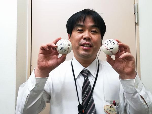 カープファン代表山田
