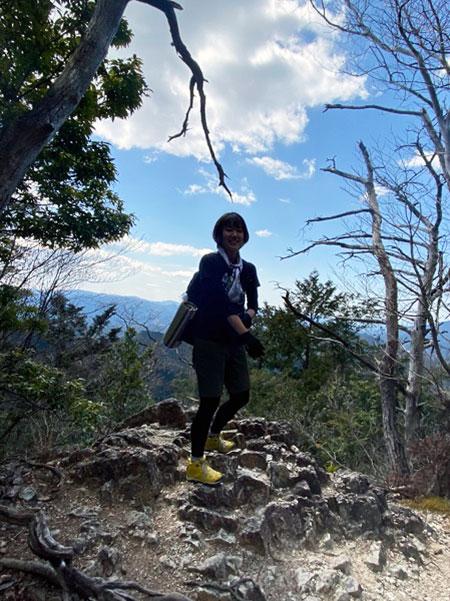鳳来寺山での一枚