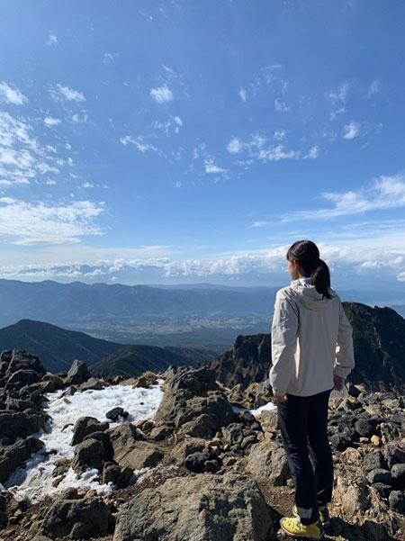 長野県の赤岳