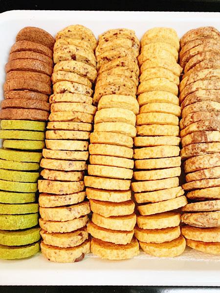サクサクのアイスボックスクッキー♡