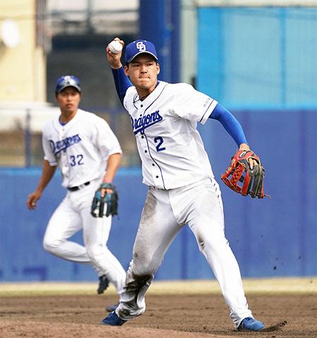 石川昂弥選手