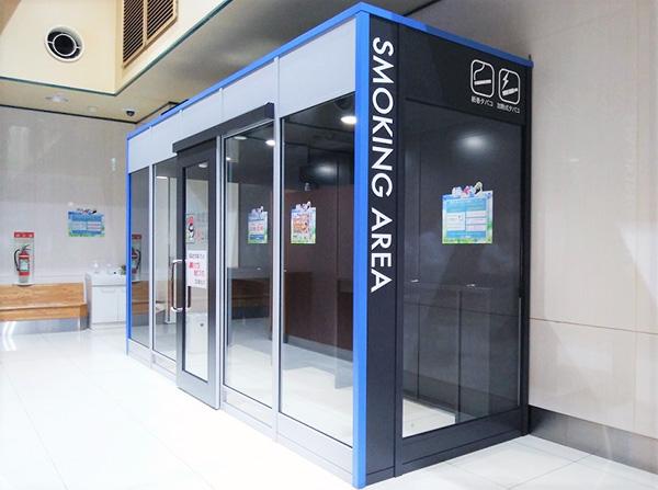 喫煙ブースです。