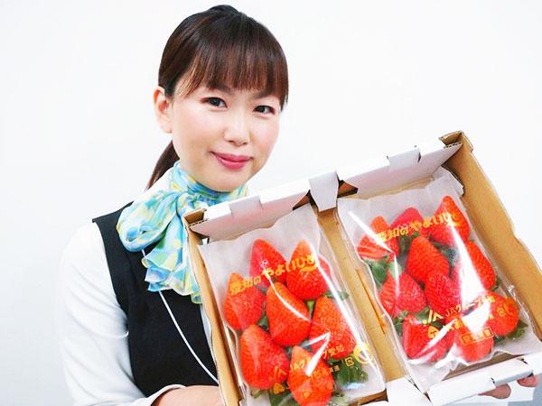 有楽青果部看板娘おすすめ果物💛ビタミンC含有量は果物トップクラス!いちご編