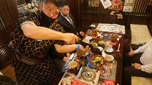 武豊町の有楽口田店の目の前!元力士が腕を振るう力士料理「すもうBAR」