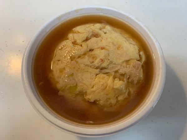 天津飯(醤油ベース)