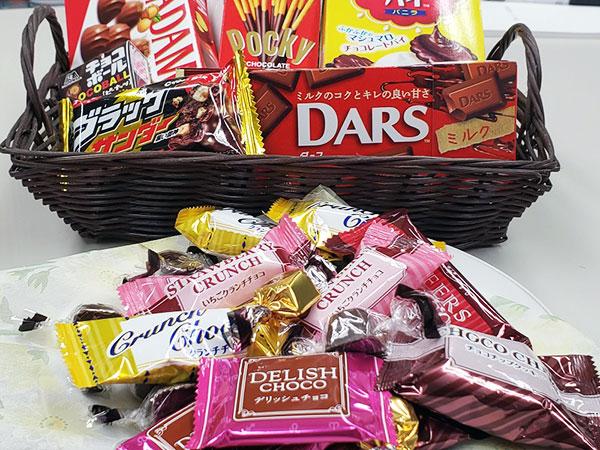 チョコレート色々