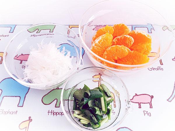 💛はるみと野菜のサラダ②💛