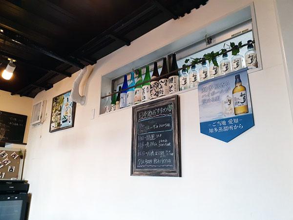 ビール・日本酒・ウィスキーなど種類も豊富