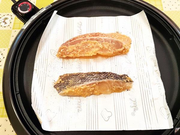 店頭で販売中の冷凍切り身 『めぬき』&『つぼ鯛』を焼いて食べてみた。