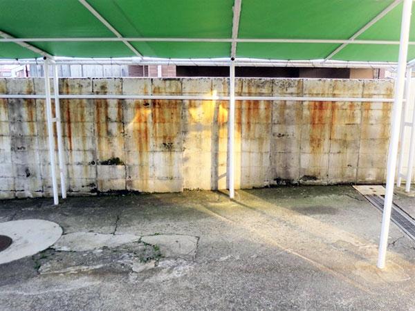 レトロ本店DIY!駐車場のライン引き