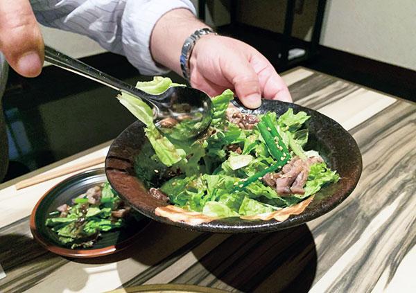 鷹志特製サラダ