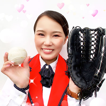 みんなで一緒に野球しましょー