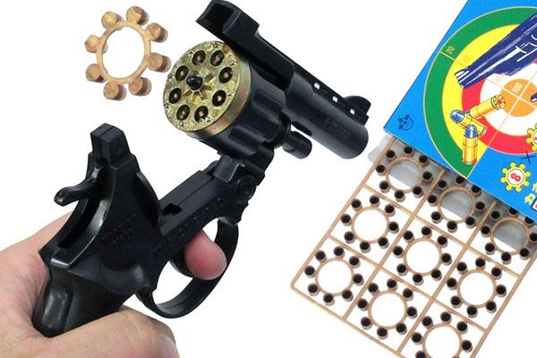 おもちゃの拳銃