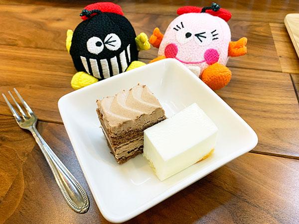 ショコラ&レアチーズケーキ